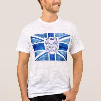 Drapeau de Millwall de regard de détresse T-shirt