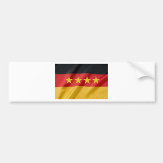 drapeau de monde-tasse autocollant de voiture
