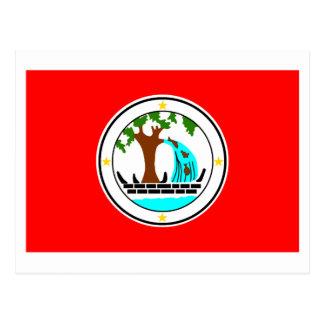 Drapeau de Ngiwal Carte Postale