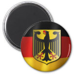 Drapeau de ondulation allemand aimant pour réfrigérateur