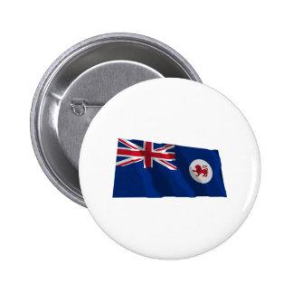 Drapeau de ondulation de la Tasmanie Pin's