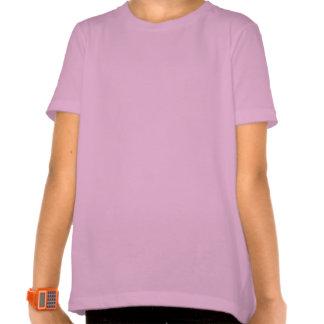 Drapeau de ondulation de l'Algérie avec le nom en T-shirts
