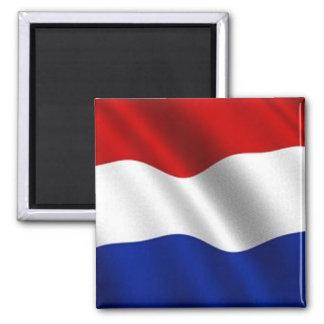 Drapeau de ondulation de Pays-Bas Aimant