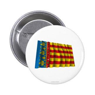 Drapeau de ondulation de Valence Badge