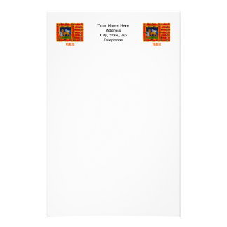 Drapeau de ondulation de Vénétie avec le nom Papier À Lettre
