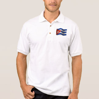 Drapeau de ondulation du Cuba Polo
