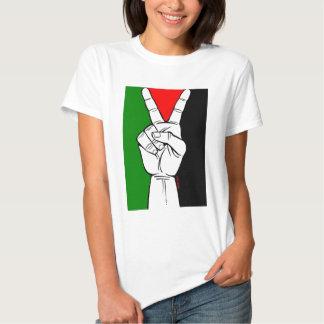 Drapeau de paix de la Palestine T-shirt