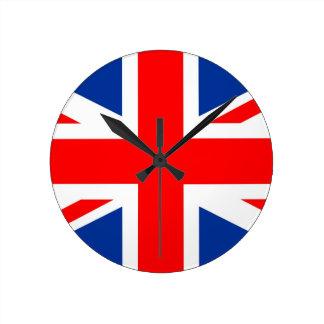 drapeau de pays du Royaume-Uni Grande-Bretagne R-U Horloges