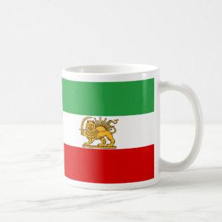 Drapeau de Perse/de Iran (1964-1980) Mug