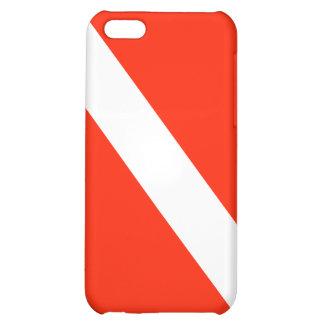 Drapeau de piqué de plongée à l'air coques pour iPhone 5C