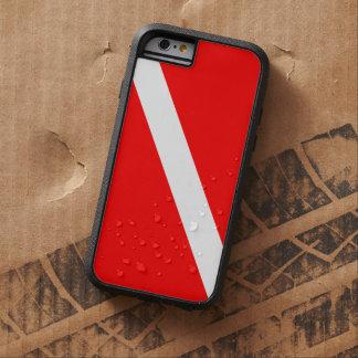 Drapeau de piqué de plongée à l'air coque tough xtreme iPhone 6