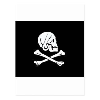Drapeau de pirate de Henry chaque Carte Postale