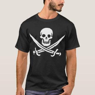 Drapeau de pirate Jack Rackham T-shirt