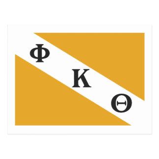 Drapeau de PKT Carte Postale