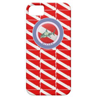 drapeau de plongée de motif coque iPhone 5 Case-Mate