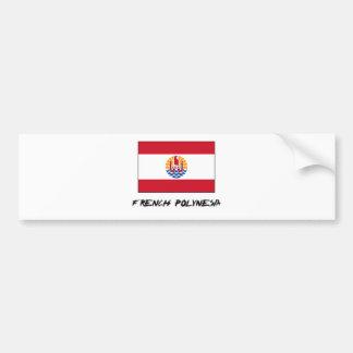 Drapeau de Polynésie française Autocollant Pour Voiture