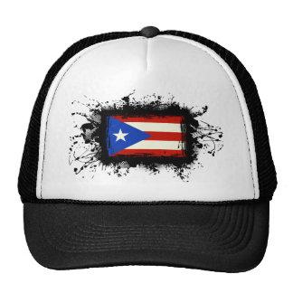 Drapeau de Porto Rico Casquettes