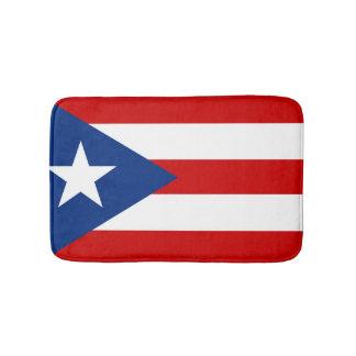 Drapeau de Porto Rico Tapis De Bain