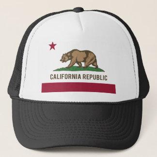 Drapeau de République de la Californie - couleur Casquette