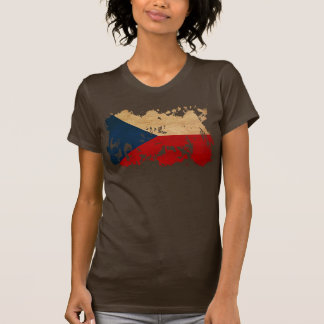 Drapeau de République Tchèque T-shirt