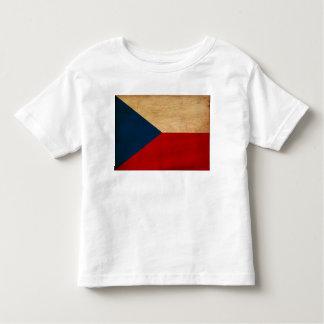 Drapeau de République Tchèque T-shirt Pour Les Tous Petits