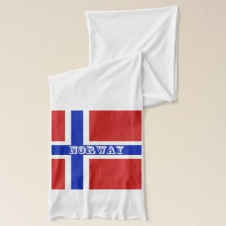 Drapeau de Scandinave de la Norvège Écharpe