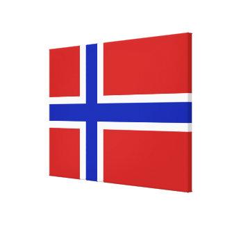 Drapeau de Scandinave de la Norvège Toiles