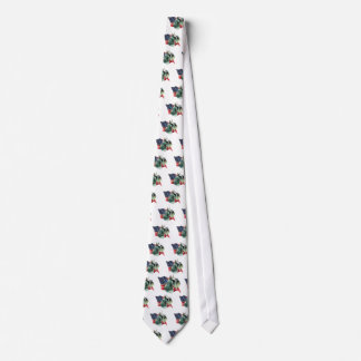 Drapeau de Schnauzer miniature Cravates