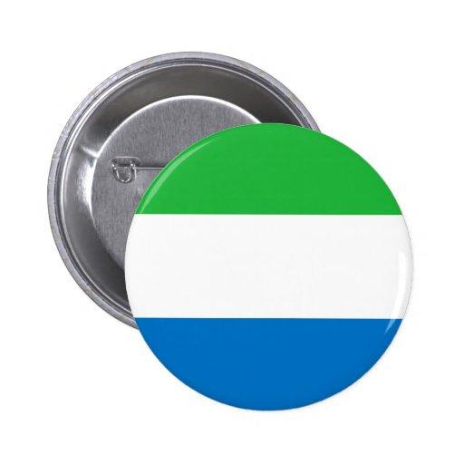 Drapeau de Sierra Leone Badges Avec Agrafe