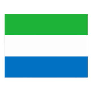 Drapeau de Sierra Leone Cartes Postales