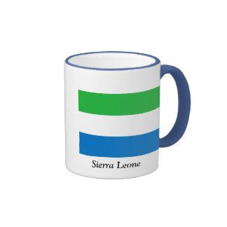 Drapeau de Sierra Leone Mugs À Café