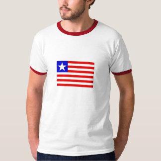 Drapeau de T-shirt de la sonnerie des hommes du