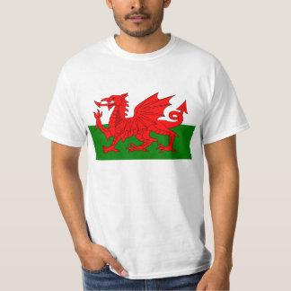 Drapeau de T-shirt du Pays de Galles