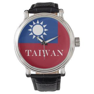 Drapeau de Taïwan République de Chine Montre