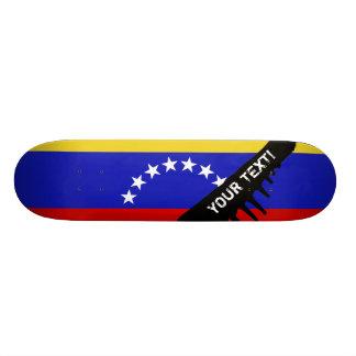 Drapeau de Venezuala Planches À Roulettes
