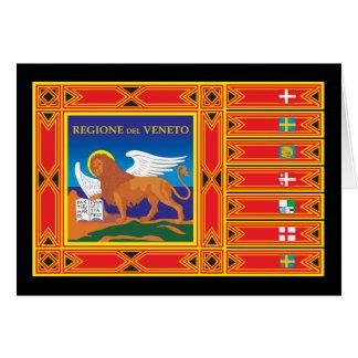Drapeau de Venise Cartes De Vœux