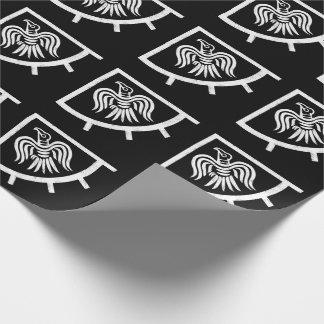 Drapeau de Viking de bannière de Raven Papier Cadeau