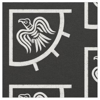 Drapeau de Viking de bannière de Raven Tissu