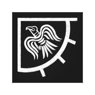 Drapeau de Viking de bannière de Raven Toile