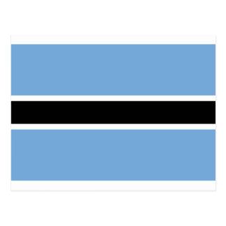 Drapeau de ya Botswana du Botswana - du Folaga Carte Postale