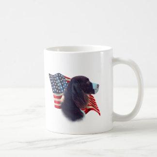 Drapeau d'épagneul de springer anglais mug