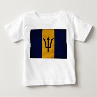 Drapeau des Barbade T-shirt Pour Bébé