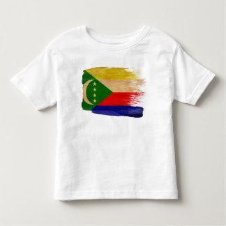 Drapeau des Comores T-shirt Pour Les Tous Petits