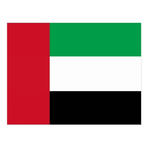 Drapeau des Emirats Arabes Unis Cartes Postales