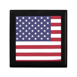 Drapeau des Etats-Unis Boîte À Souvenirs