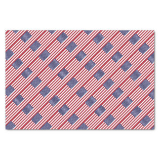 Drapeau des Etats-Unis Papier Mousseline