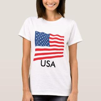 Drapeau des Etats-Unis T-shirt