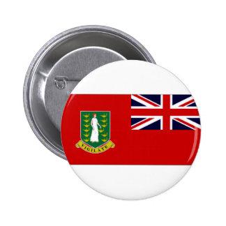 Drapeau des Îles Vierges britanniques Badge Rond 5 Cm