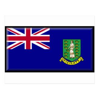 Drapeau des Îles Vierges britanniques Carte Postale