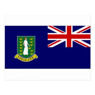 Drapeau des Îles Vierges britanniques Cartes Postales